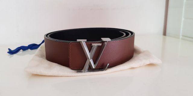 Louis Vuitton LV authentic reversible belt