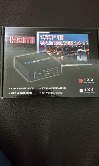 HDMI 1進2出4K高畫質分配器  IPC-31X 1.4版