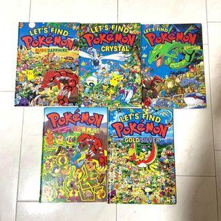 🚚 Let's Find Pokemon book