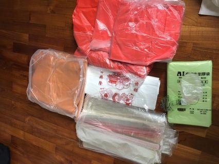 🚚 Leftover Plastic Bags