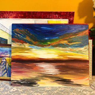 Acrylic Painting on Canvas - 01 'Eve of Destruction'