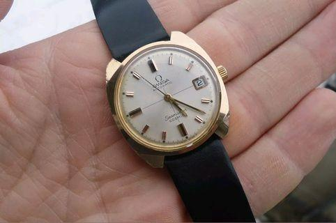 Omega Seamaster Cosmic Automatic gold plated