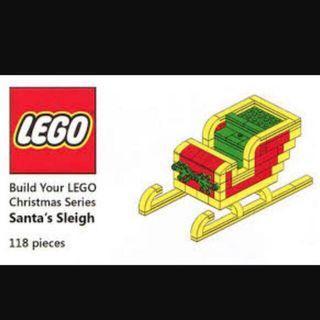 Lego Limited Edition- Reindeer 6197298 / Sleigh 6197300