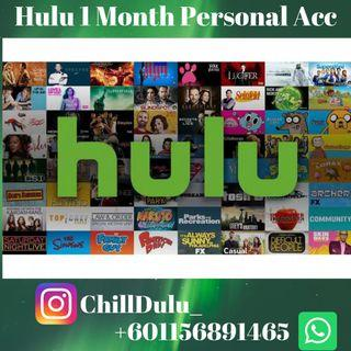 Hulu Personal Account (With Commercial)