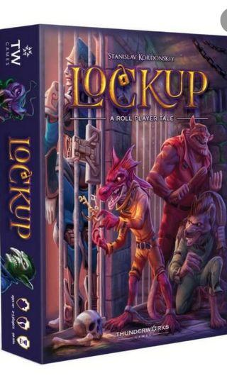 Lockup board game KS (a sequel of Roll Player)