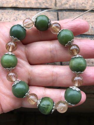 綠龍晶手串