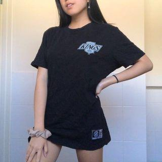 Black Oversized Shirt Los Angeles Kings