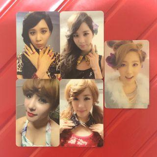 Snsd girls generation tts taetiseo taeyeon seohyun tiffany twinkle photocard korea kpop