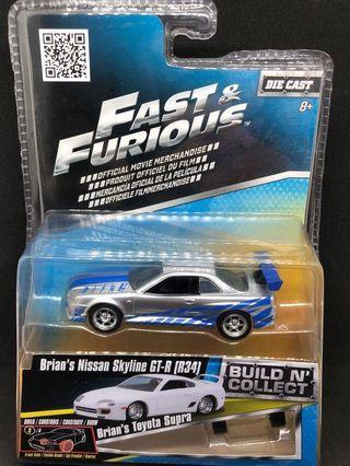 FAST & FURIOUS Brian's Nissan Skyline GT-R34