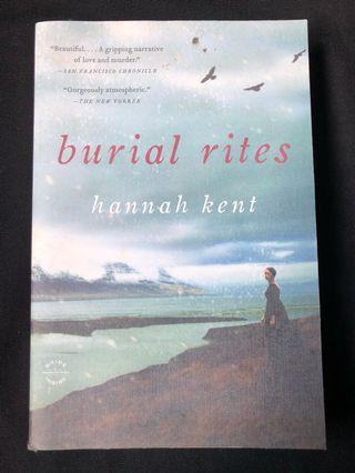 🚚 burial rites by hannah kent