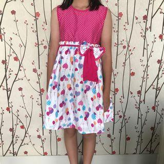 Dress Bunga Anak merk Kidztoo