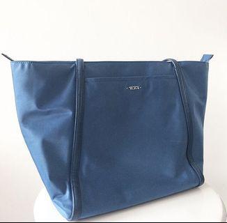 Tumi blue tote bag