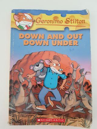 🚚 Geronimo Stilton Down and Out Down Under