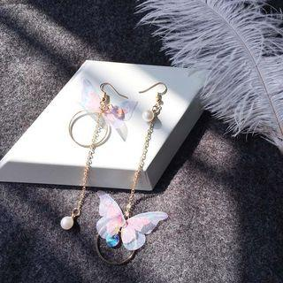 🚚 Butterfly earrings (korean)