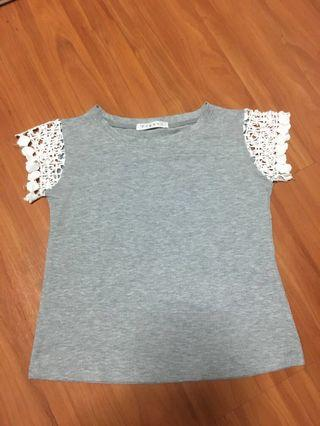Grey casual top 💜2 for $4