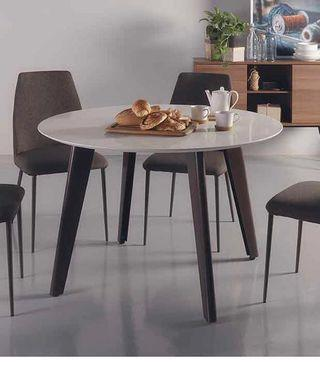 Cellini Quartz Round Dining Table