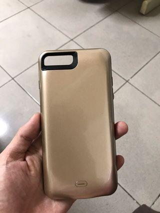 iPhone 7+行動充電器(二手約用2-3個月)