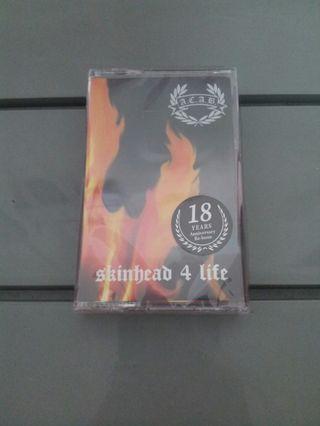 """ACAB """"skinhead 4 life"""" Tape"""