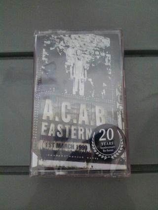"ACAB ""eastern oi!"" Tape"