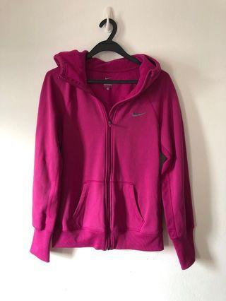 🚚 Nike fleece hoodie pink