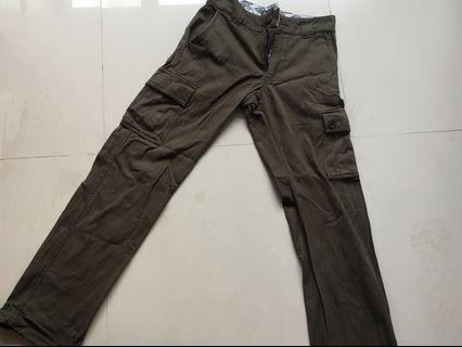 Dickies cargo pants 軍綠工裝褲