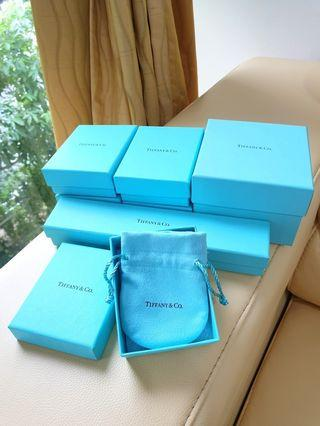 Tiffany & Co. Empty Box w Paper Bag