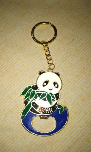 Gantungan Kunci Panda (Dari Hongkong) + Pembuka botol