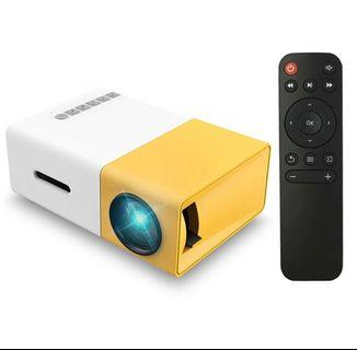 🚚 Brand New - YG300 Portable Projector / mini portable projector /