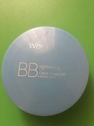 Bedak Wardah BB lightening cale powder shade 01 light