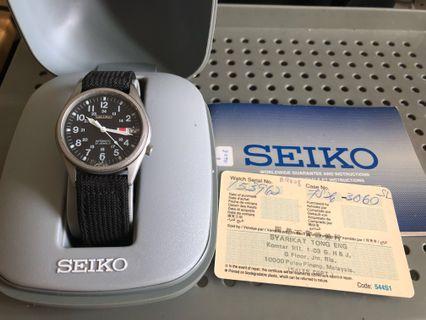 Seiko Military Dial SNX427