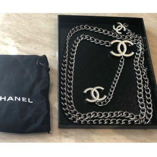 0d59d38105cf CHANEL CC SIGNED NECKLACE & BELT ( Authentic)