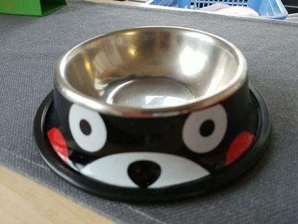 熊本熊寵物碗 貓碗狗碗 (95%NEW)