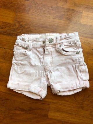 🚚 Light Pink Demin Shorts
