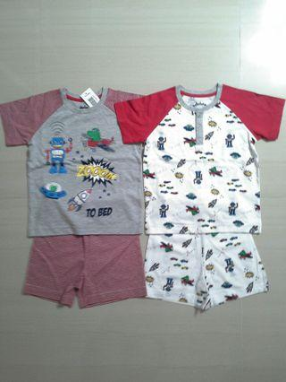 🚚 Brand NEW Boys Mix & Match Shorties ( Pack Of 2 Sets )