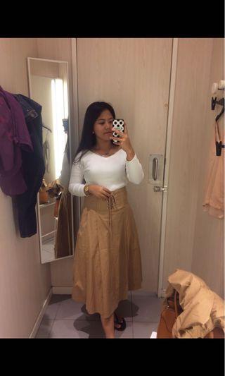 H&M Skirt Khakis