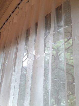 🚚 Dimout 80%/90% Blockout night curtain/Day curtain (Privacy effect)