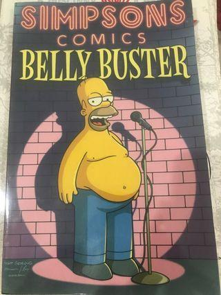 🚚 Simpsons comics - Belly Buster