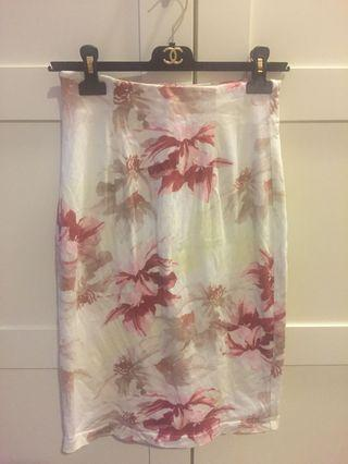 Japan Snidel floral skirt m size 半截裙