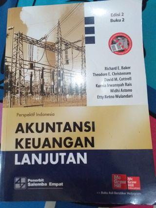Buku Akuntansi Keuangan Lanjutan (AKL)