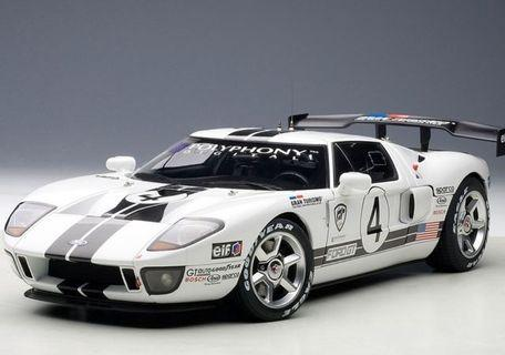 1/18 AUTOart Ford GT LM Race Car Spec II