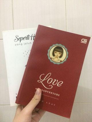 Novel boy chandra + lang leav 2 buku 50rb