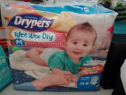 🚚 Drypers Wee Wee Dry