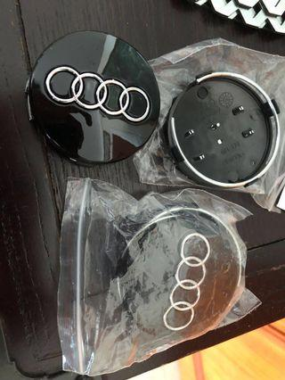 AUDI wheel hub center cap cover emblem