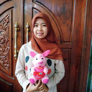 Boneka Piglet Love SNI