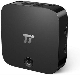 (A130) TT-BA09 TaoTronics Bluetooth 5.0 Transmitter and Receiver, Digital Optical TOSLINK and 3.5mm Wireless Audio Adapter for TV/Home Stereo System