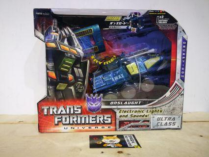 Transformers Universe Ultra Class Onslaught 日版