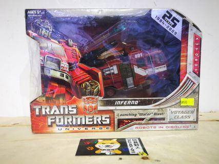 Transformers Universe Voyager Class Inferno
