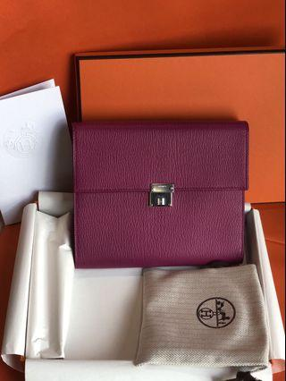 Hermes Wallet with Strap