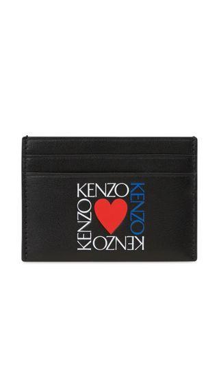 🚚 Kenzo Square Logo Heart Card Holder