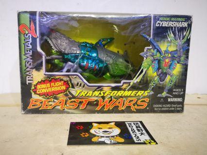 Transformers Beast Wars Transmetals2 Cybershark